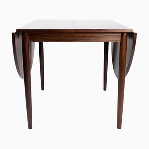Rosewood Dining Table with Extensions by Arne Vodder, 1960s