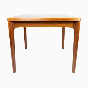 Teak Dining Table with Extensions by Henning Kjærnulf, 1960s