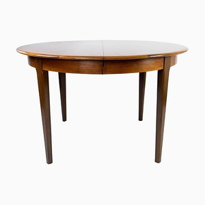 Danish Dining Table in Rosewood with Extension Plates, 1960s