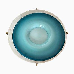 Italian Decorative Centerpiece Plate, 1960s