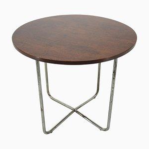 Bauhaus Chrome Dining Table by Robert Slezak, 1940s