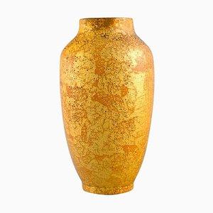 Antike Keramik Vase mit Gold Dekoration von Sevres für Delvaux, 1910er
