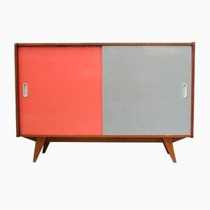 Small Vintage U-542 Cabinet by Jiří Jiroutek for Jiroutek