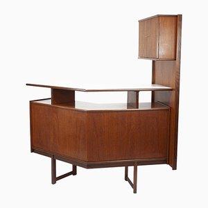 Mueble bar vintage de teca de Turnidge, años 60