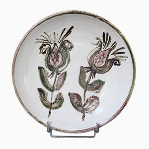 Mid-Century French Decorative Platter by Albert Thiry, 1960s