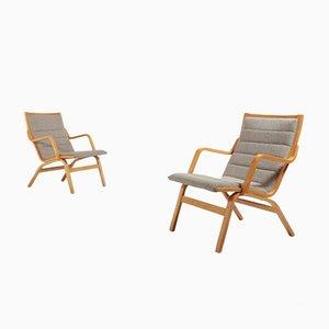 Scandinavian Vintage Lounge Chairs by Finn Ostergaard, Set of 2