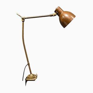Industria Rotterdam Clamp Lamp in Brass and Copper