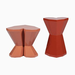Queen Heart Side Tables by Royal Stranger, Set of 2