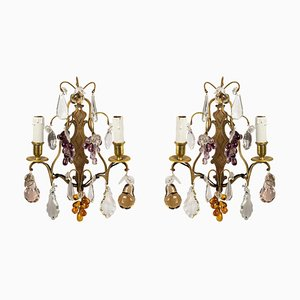 Louis XV Style Wall Lights, Set of 2