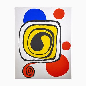Impresión Composition Offset de Alexander Calder, años 70