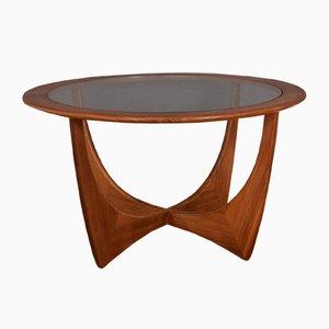 Teak Fresco Teak & Glass Astro Coffee Table by Victor Wilkins