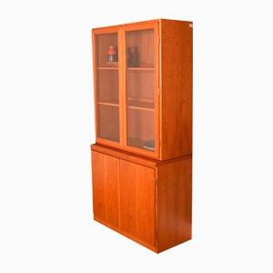 Teak Glazed Bookcase, 1960s