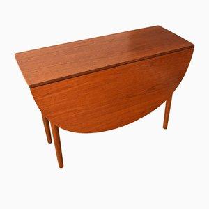 Klappbarer Teak Esstisch von Victor Wilkins, 1960er