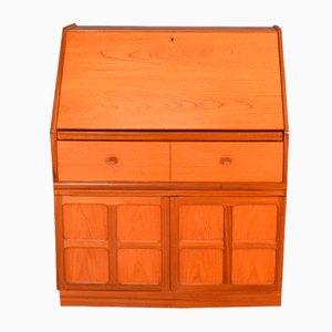 Schreibtisch mit Teak Quadrat Schreibtisch von Nathan, 1960er