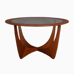 Teak Fresco & Glass Astro Coffee Table by Victor Wilkins