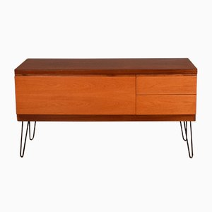 Teak Sideboard with Hairpin Legs from White & Newton, 1960s