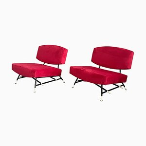 Model 865 Armchairs by Ico Parisi for Cassina, 1955, Set of 2