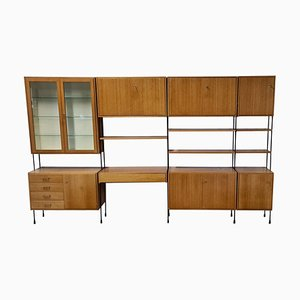 Libreria modulare Omnia Mid-Century di Ernst Dieter Hilker, anni '60