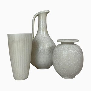 Ceramic Pieces by Gunnar Nylund for Rörstrand, Sweden, 1950s, Set of 3