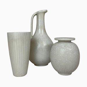Keramikstücke von Gunnar Nylund für Rörstrand, Schweden, 1950er, 3er Set