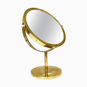 Mid-Century Brass Table Mirror by Hans-Agne Jakobsson for AB Markaryd