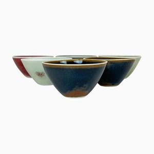 Mid-Century Small Bowls by Carl-Harry Stålhane for Rörstrand, Set of 6