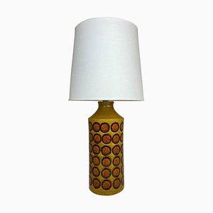 Mid-Century Ceramic Table Lamp from Bergbom Bitossi, Italy