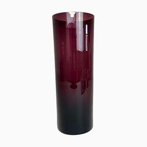 Large Glass Vase from Gullaskruf, Sweden, 1950s