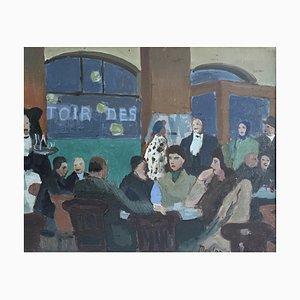 Henry Meylan, Retrouvailles au Café Restaurant, 1951