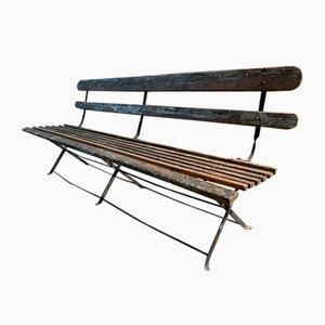 Antique French Garden Bench