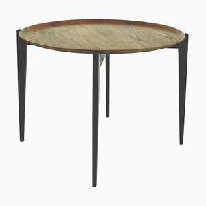 Danish Teak Tray Table in the Style of Willumsen and Engholm