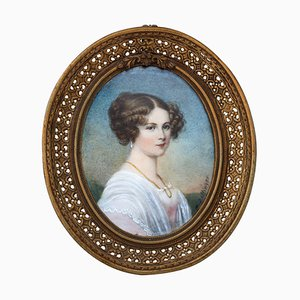 Moritz Michael Daffinger, Portrait of a Lady