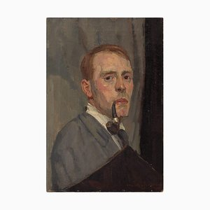 Walter Jungblut, Self-Portrait