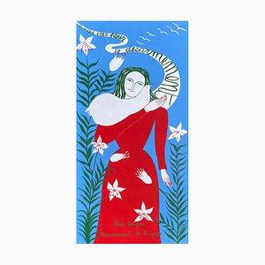 Póster de Marche 1982 Pour le Désarmement de Juliette Ramade