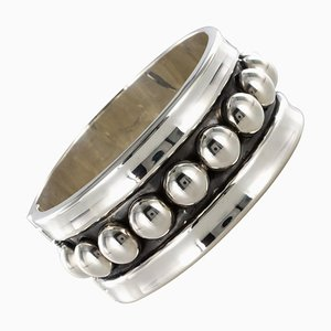 Jean Déprès Style Silver Bangle Bracelet