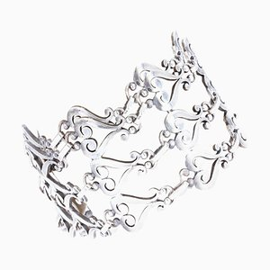 19th Century Silver Cuff Bracelet