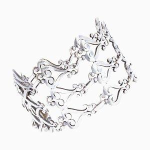 Manschettenarmband aus Silber, 19. Jh