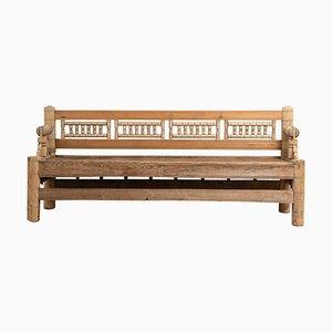 Mid 18th Century Swedish Pine Bench