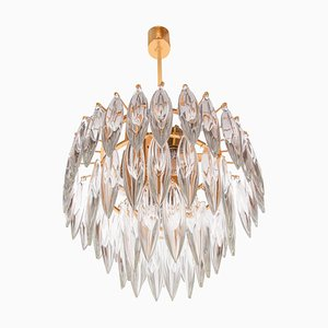 Crystal & Gold Plated Chandelier from Lobmeyr / Bakalowits & Sons, 1960s
