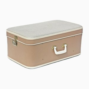 Vintage Suitcase from Albana Warranty, 1950s