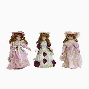 Vintage Dolls, 1960s, Set of 3