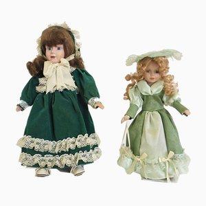 Vintage Dolls, 1960s, Set of 2
