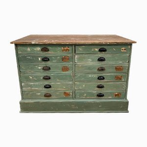 Small Double-Sided Cabinet with Drawers