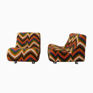 Armchairs from Beka, 1970s, Set of 2