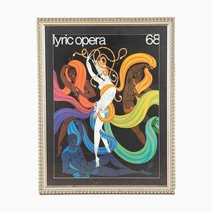 Lyric Opera Poster by Erté