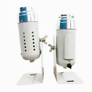 Industrielle Tischlampen, 1960er, 2er Set