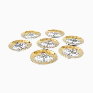 Coasters by Piero Fornasetti for Saks Fifth Avenue, Set of 7
