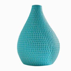 Mid-Century Light Blue Reptil Vase by Stig Lindberg for Gustavsberg