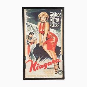 French Marilyn Monroe Niagara Movie Poster