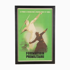 Big French World War Two Poster